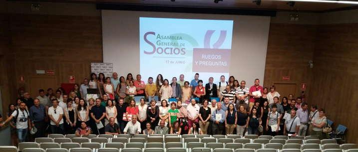 Foto de grupo de la Asamblea Feder 2017