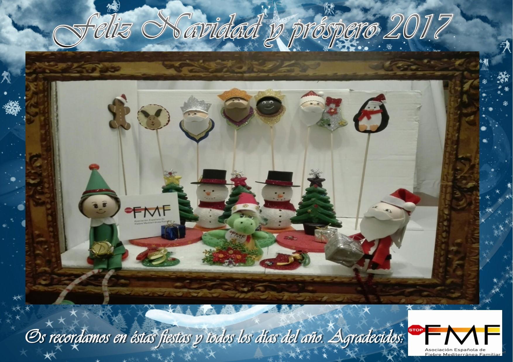 feliz navidad Fiebre Mediterránea Familiar