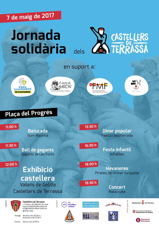 Cartel Els Castellers