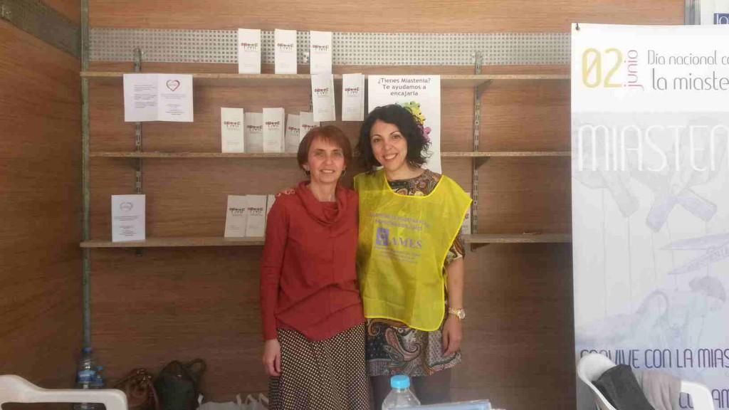Con Raquel Pardo, de Ames