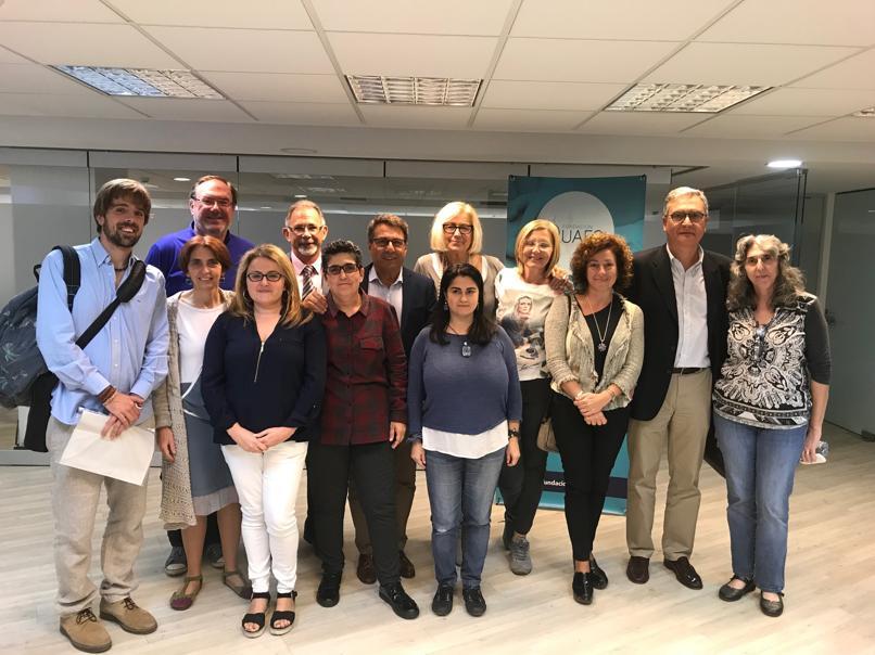 ponentes y miembros de la agrupacion