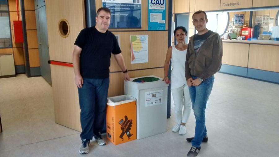 Algunos de nuestros voluntarios del Campus de la UJI
