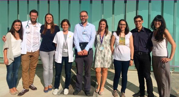 Equipo investigador premiado con la beca stop fmf-serpe 2017