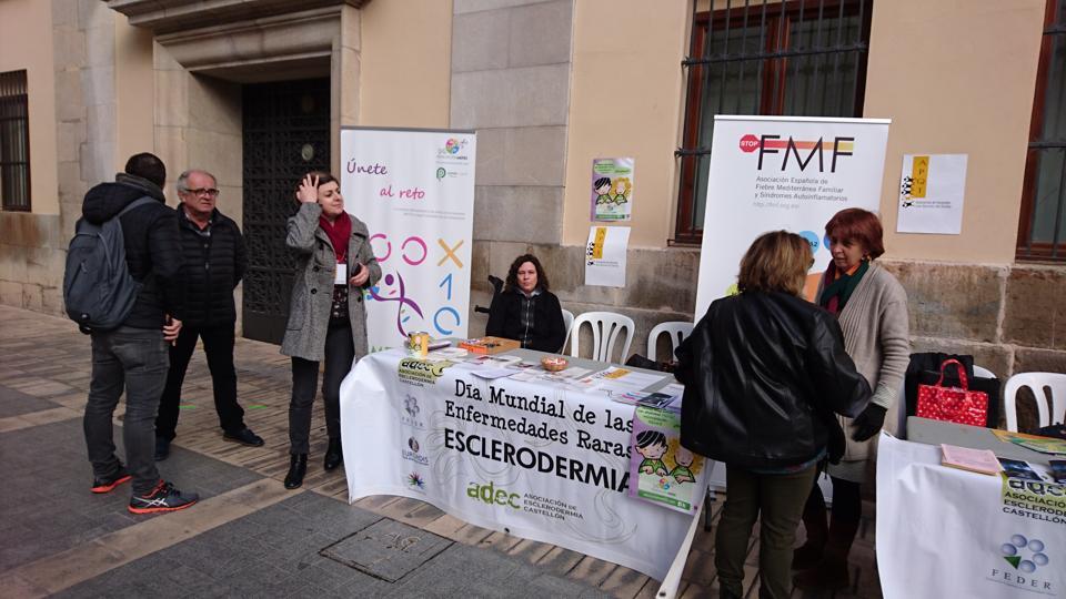 Foto de la jornada de visibilidad de Castellón