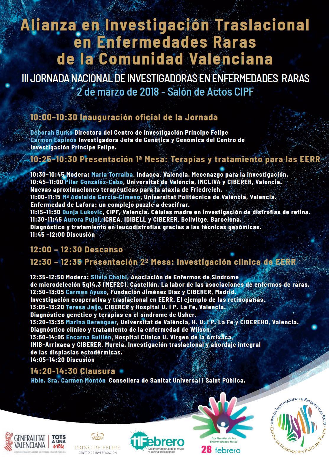 Programa III Jornadas Investigadoras