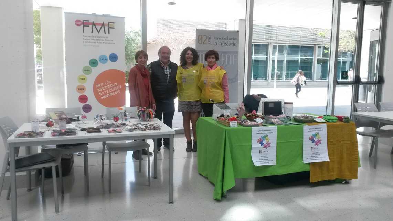 Stop FMF en el encuentro de Magisterio en Valencia