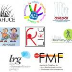 Logos de entidades reumatológicas españolas