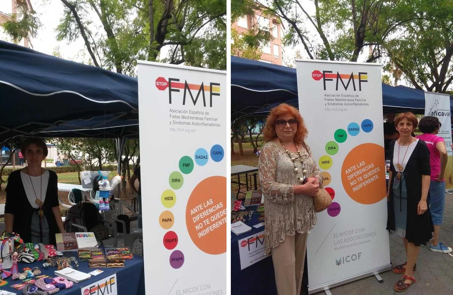 Stop FMF en la feria de Alfafar