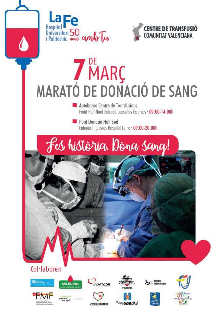 Maratón donación sangre