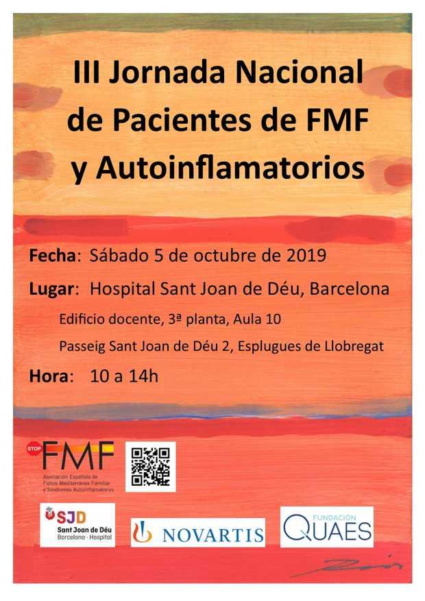 Cartel III Jornada Stop FMF