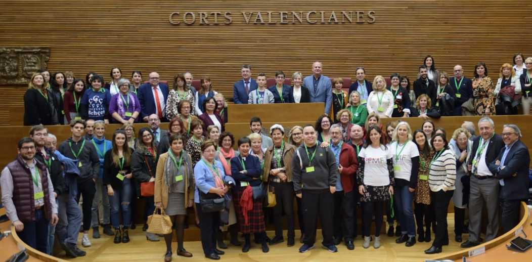 Acto cortes valencianas 2020