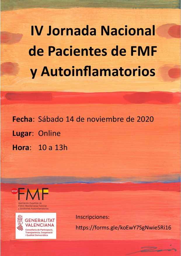 IV Jornada Nacional de Pacientes de FMF y Autoinflamatorios