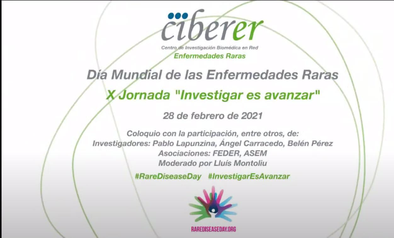 Ciberer. Día Mundial de las ER 2021