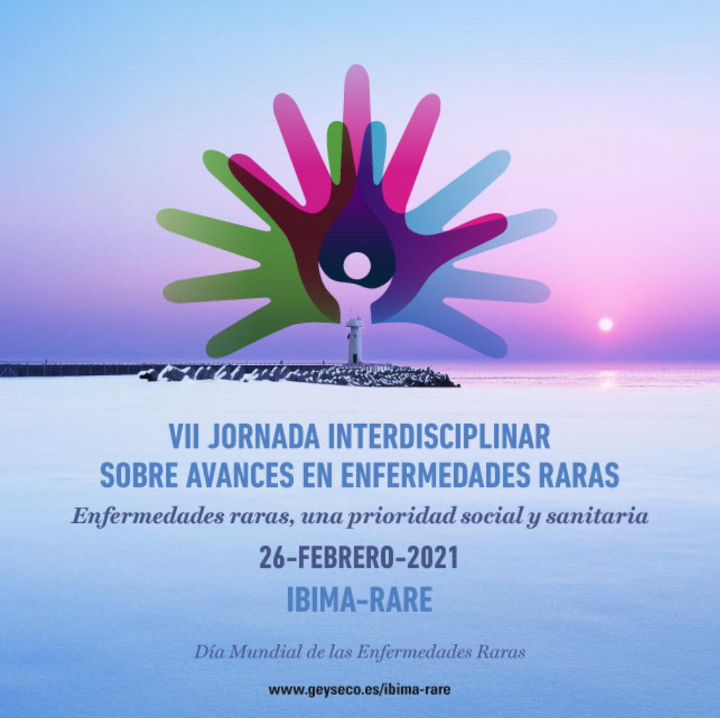 VII Jornada Enfermedades Raras IBIMA-RARE 2021